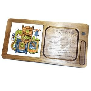 Vintage | Wooden Cheese Cutting Board